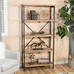 Bookshelf Home Goods: Free Shipping on orders over $45 at Overstock.com - Your Home Goods Store! Get 5% in rewards with Club O!