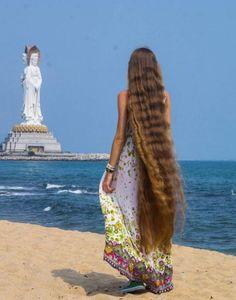 Girdiği iddia hayatını değiştirdi...Daria Gubanova Long hair , 1.6 mt.
