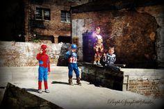 5 year old, Multiples, Superhero