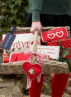 Valentines, Mother's Day, Christmas and More gift baskets.