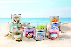 Who doesn't love the scent of a Yankee Candle in the summer? beach walk, pink sands... mmmm
