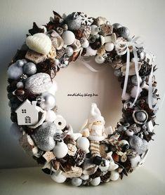 Ornament Wreath, Ornaments, Christmas Wreaths, Xmas, Decorations, Holiday Decor, Home Decor, Decoration Home, Room Decor