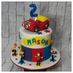 Mason's 2nd Birthday Cake