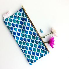 Mermaid Scales Pouch Pencil Case Mermaid Pencil Case