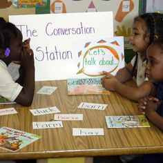 The Conversation Station - A Centre for Developing Oral Language and Vocabulary Skills: Food Group - Oral Language & ELL