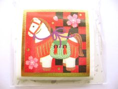 Year of the Horse Stickers 2014 Japanese by FromJapanWithLove, $6.50