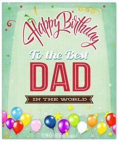 fathers birthday wishes.Best 20 Birthday Wishes for Dad Birthday Greetings For Dad, 20th Birthday Wishes, Happy Birthday Wishes Messages, Beautiful Birthday Wishes, Romantic Birthday, Birthday Wishes For Myself, Happy Birthday In Heaven, Happy Birthday Daddy, Father Birthday