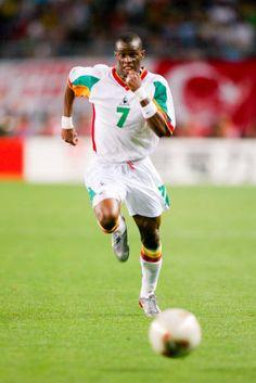 Henri Camara of Senegal in action at the 2002 World Cup Finals. 2002 World Cup, World Cup Final, Finals, Action, Sports, Hs Sports, Group Action, Sport, Final Exams