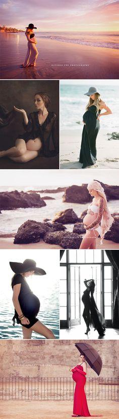 28 Modern and Captivating Themed Maternity Photo Ideas - Fashion-forward