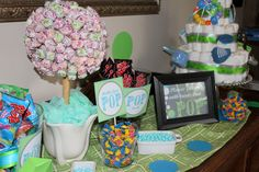 """Treats for """"She's going to pop"""" bridal shower"""