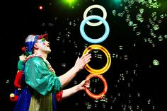 Juggling Circus Clown Act - Funny Clown Performance for kids on Birthday Party