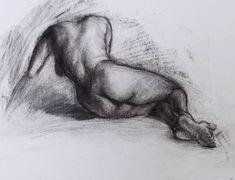 Alexandra Anton Sketch Advent-calendar | Day 14. #alexandraantonartist #alexandraanton #sketch #drawing #charcoal #charcoaldrawing #nude #nudefemale #femalenude #art #femaleback #schizzo #disegno #carbone #donna #nuda #arte #Skizze #Zeichnung #Kohlezeichnung #Akt #Aktzeichnung