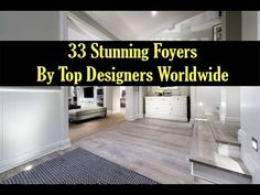 33 Stunning Foyers by Top Designers Worldwide Interior Design Videos, Top Designers, Foyers, Tile Floor, Ideas, Decor, Decoration, Tile Flooring, Dekoration