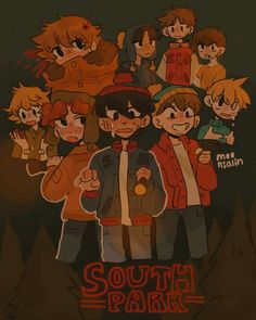 Best Comedy Shows, South Park Characters, South Park Fanart, Memes, Gay Comics, Love My Boys, Cool Drawings, Sketches, Animation