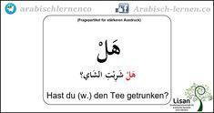 Fragepartikel für Entscheidungen  arabisch-deutsch