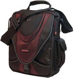 """Mobile Edge - 13.3"""""""" Tablet Mini Messenger Bag (Black/Red)"""