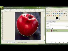 [ GIMP ] Tuto n° 10 : Découpage d'image , et présentation de l'outil Chemin - YouTube