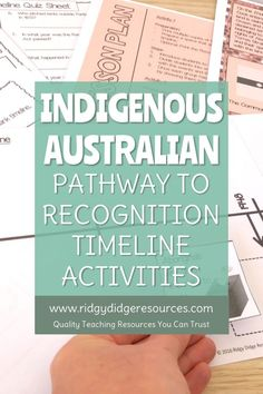 Indigenous Australian Reconciliation Timeline and Activities - Ridgy Didge Resources National Sorry Day, National Week, Naidoc Week Activities, Aboriginal Education, First Fleet, Homeschool High School, History Education, Australian Curriculum, Investigations