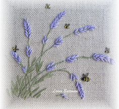 Wonderful Ribbon Embroidery Flowers by Hand Ideas. Enchanting Ribbon Embroidery Flowers by Hand Ideas. Embroidery Stitches Tutorial, Embroidery Flowers Pattern, Embroidery Patterns Free, Learn Embroidery, Silk Ribbon Embroidery, Embroidery For Beginners, Hand Embroidery Designs, Cross Stitch Embroidery, Embroidery Thread