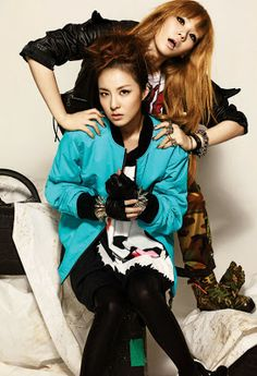 2NE1 Dara Bom Minzy CL - 1st Look Magazine Vol.1 Billion Dollar Baby