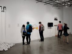 Similar Diversity at TCNJ Gallery - Photos © by TCNJ Gallery / Emily Croll