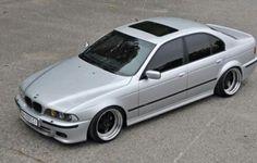 BMW E39 5 series silver deep dish