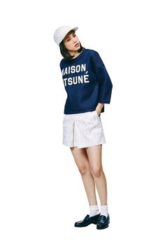 Kiko Mizuhara Stars In Maison Kitsune's SS'15 Campaign