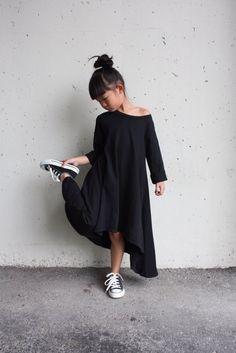 Image of Black Filly dress