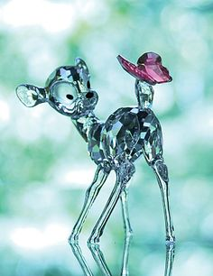 Swarovski Crystal Disney Collection, Bambi More @ http://www.facebook.com/ComicsFantasy & http://www.facebook.com/groups/ArtandStuff & http://nl.pinterest.com/ingestorm/swarovski/