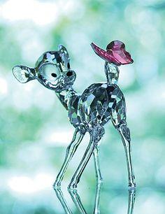 Swarovski Crystal Disney Collection, Bambi More @ http://www.facebook.com/ComicsFantasy & http://www.facebook.com/groups/ArtandStuff & http://nl.pinterest.com/ingestorm/swarovski/