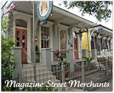 Magazine Street, New Orleans - SHOPPING!