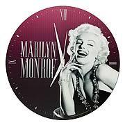 Marilyn Monroe Wall Clock - http://lopso.com/interests/clocks/marilyn-monroe-wall-clock/