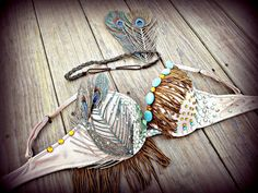 Indian Princess rave Bra by TheLoveShackk on Etsy