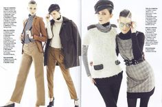 Editorial from @Glamour Italia, January 2013 issue, with #Hair & #MakeUp by Barbara Bertuzzi for Urban Tribe!