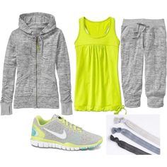 A fashion look from February 2013 featuring Athleta and NIKE sneakers. Browse and shop related looks.