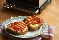 Retró sonkás melegszendvics Gourmet Recipes, French Toast, Pizza, Breakfast, Drinks, Food, Youtube, Meal, Eten