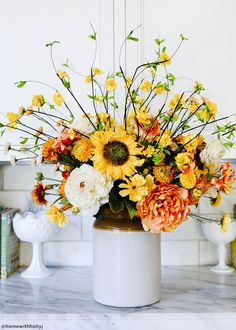 Add a touch of sunshine to any flower bouquet or fall flower arrangement with artificial sunflowers in golden yellow. Silk flowers are a great alternative to fresh flowers. Golden Yellow Orange Tall x Bloom Silk View Artificial Fall Flowers Yellow Flower Arrangements, Sunflower Centerpieces, Artificial Flower Arrangements, Artificial Flowers, Wedding Centerpieces, Funeral Flower Arrangements, Woodstock, Fake Flowers, Silk Flowers