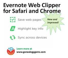 The Evernote web clipper for Safari and Chrome has just gotten better!