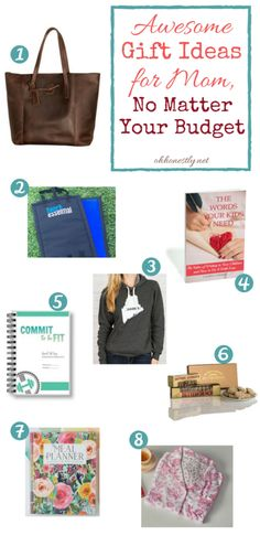 Not sure what to get mom for the holidays? Or maybe you ARE the mom and need to drop some hints about what you really want. Look no further! This holiday gift guide has something for every mom and something for any gift buyer's budget!