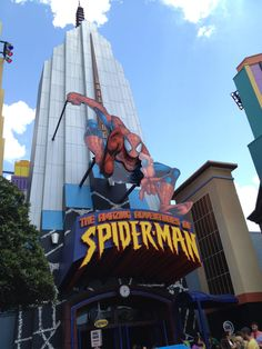 The Amazing Adventured of Spider-Man at Universal Studios Islands of Adventure in Orlando ... GREAT ride!