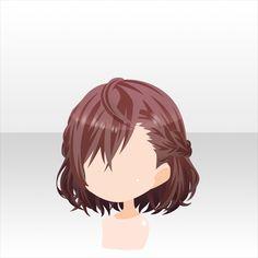 Short Auburn Hair,