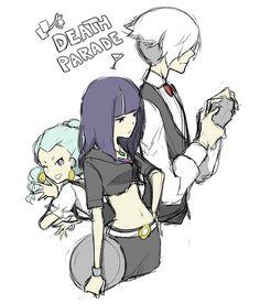 Nona, Decim y Chiyuki