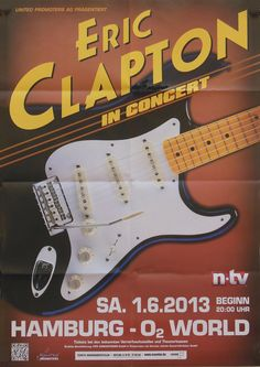 Eric Clapton, Vintage Concert Posters, Music Posters, The Yardbirds, My Generation, Graphic Design Posters, Music Albums, The Rock, The Beatles