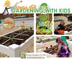 How to make gardening fun for kids!