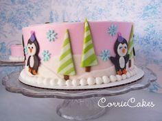 non-Christmas-color Christmas cake  # 2 nualas bday