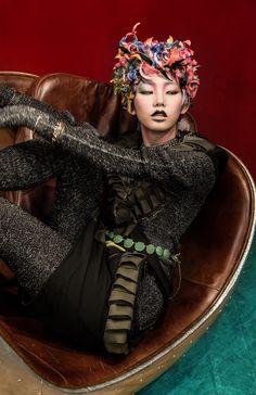 www.Dong-Feng.asia  ( Cartoon )  Hair by @Ritz Lam & @Jim Tse @atenstudio  Makeup by Hiroto Kuwahara & AhYu Pak  Costume : Kaori Tanaka   Photography : Tao Ma  Copyright {東風} Dōng Fēng Creative team