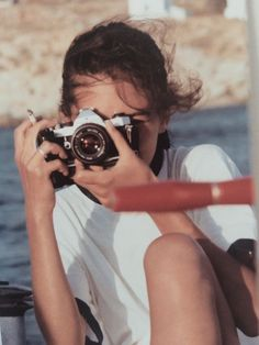 Lizy Manola Releases New Photography Book, Mykonos Muse summer aesthetic See This Greek Party Island Through the Eye of an Acclaimed Photographer Dslr Photography Tips, Vintage Photography, Portrait Photography, Photography Books, Camping Photography, 35mm Film Photography, Fashion Photography, Photography Lighting, Photography Courses