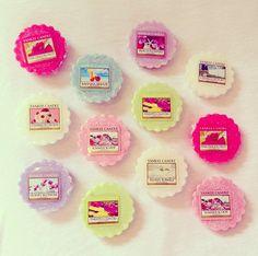 12 Yankee candle Tarts