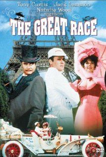 The Great Race  - can't get any better than Tony Curtis and Natalie Wood!