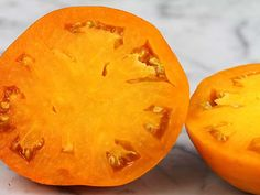The perfect orange tomato! Large 10 oz. fruit are very smooth, uniform, and a beautiful, glowing orange in color.